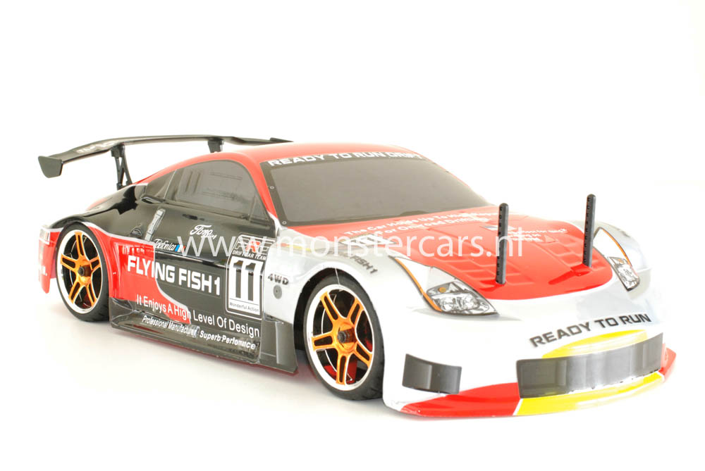 Fast RC 1:10 Brushless Porsche 911 Red
