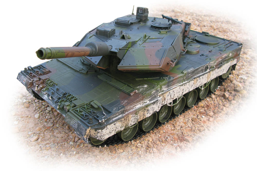 Carson / Hobby Engine Leopard 1:16 RC Panzer PRO MODELL