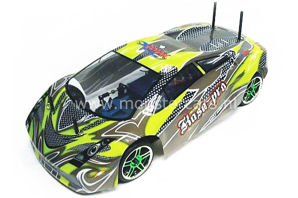 Fast RC 1:10 Brushless Lamborghini Green
