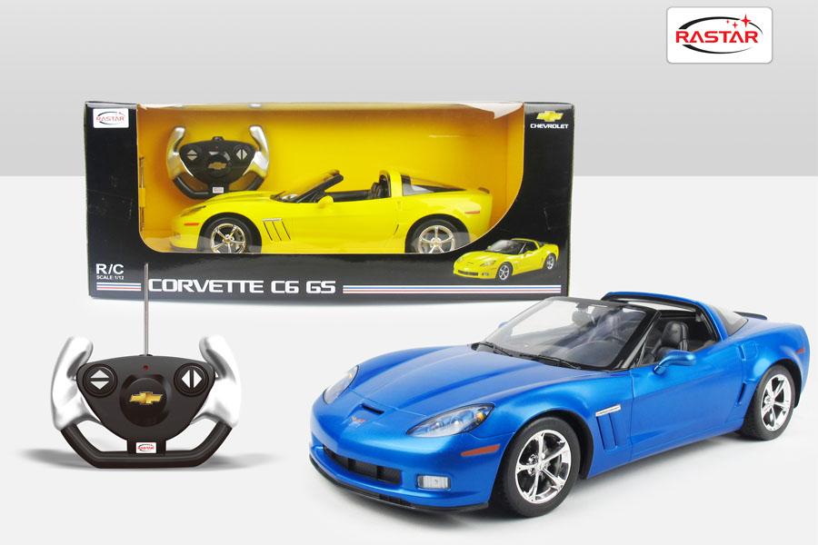 corvette c6 gs gelb 1 12. Black Bedroom Furniture Sets. Home Design Ideas
