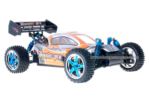 Fast 1:10 Brushless Buggy Grey Orange 2.4GHz ANGEBOT!