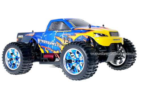 Himoto Brushless Truck Blue Atlas 2.4GHz