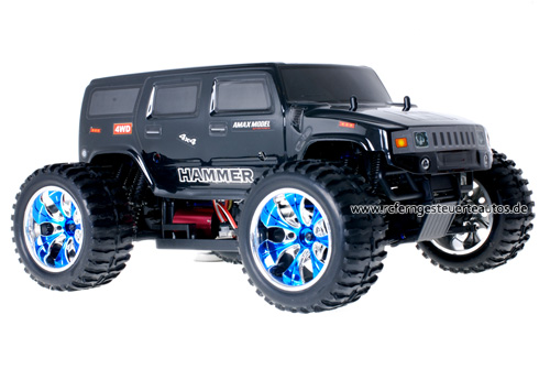Himoto Brushless Truck Hummer Black 2.4GHz