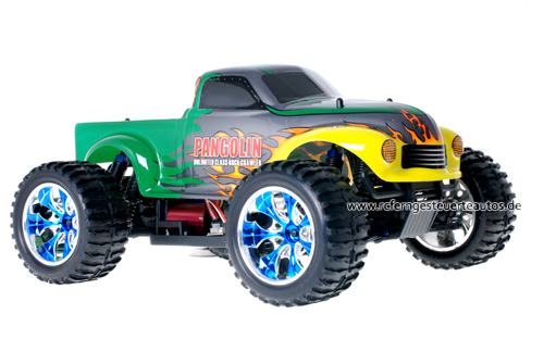 Himoto Brushless Truck Pangolin Green 2.4GHz