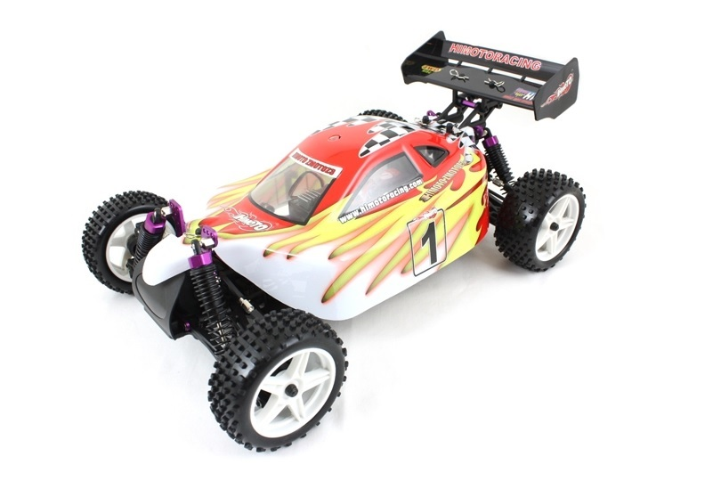 Himoto 1:10 Buggy Red White