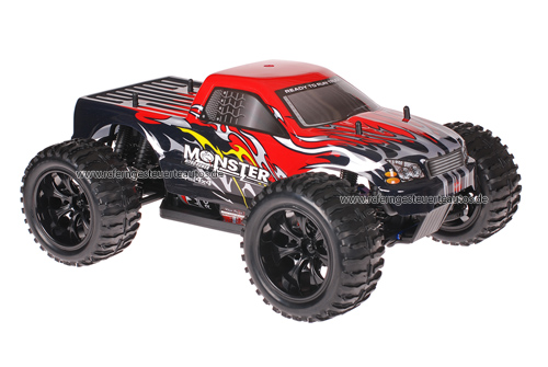 Himoto 1:10 Truck Black Red 2.4GHz ANGEBOT!