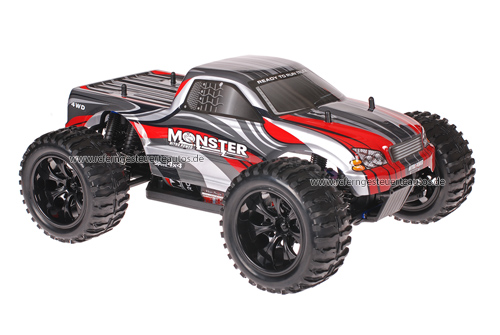 Himoto 1:10 Truck Grey Red 2.4GHz ANGEBOT!