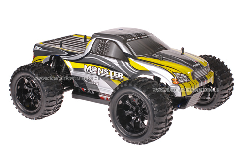 Himoto 1:10 Truck Grey Yellow 2.4GHz ANGEBOT!