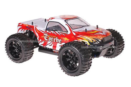 Himoto 1:10 Truck Silver Red 2.4GHz ANGEBOT!